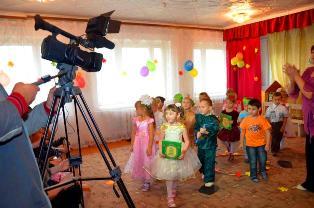 Съемка в детсадике - выбора видеографа