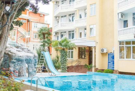 Отдых в отеле «КИПАРИС» в Адлере.